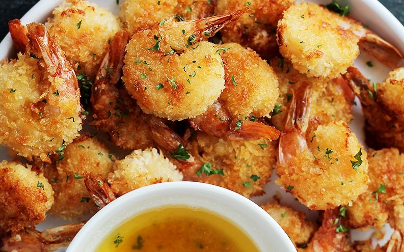 Sarımsaklı tereyağı soslu çıtır karides tarifi